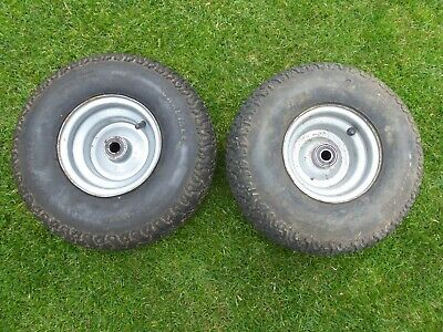 Westwood Countax Front Wheels 15x6.00-6 For Ride On Lawnmower Garden Tractor
