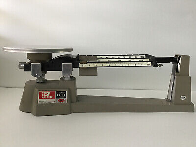 Vintage Ohaus Series 2610 Grams Triple Beam Balance Scale