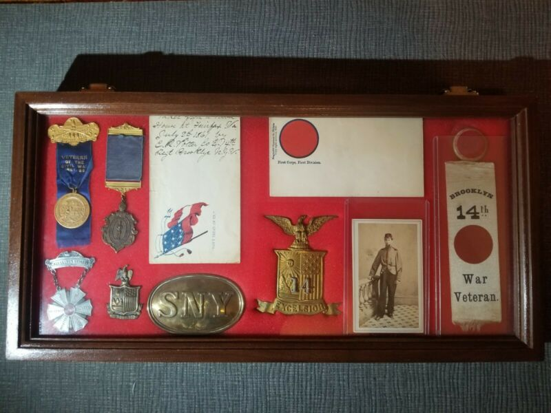 Iron Brigade Union Army Relics Collection