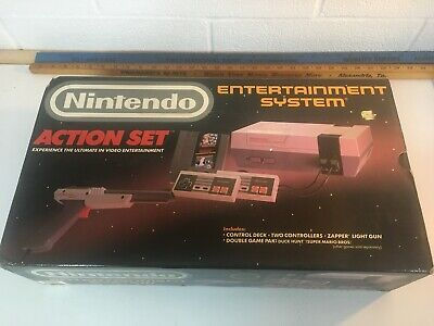 Nintendo Entertainment System Action Set Console In Box Superb