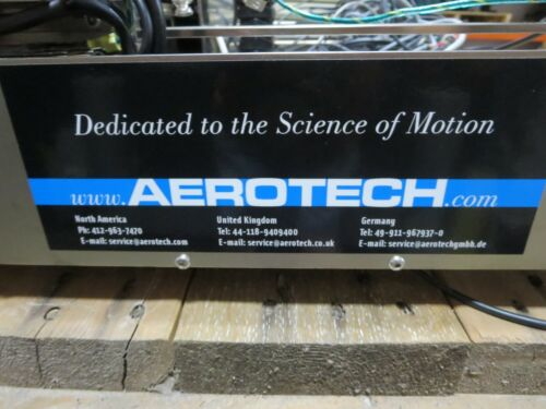 """Aerotech,See Description,Dual Carriage Linear Positioner,For """"Parts &/Or Repair"""""""