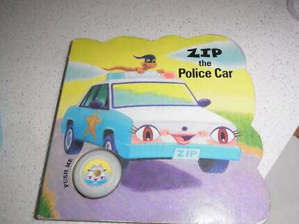 police car toddler book