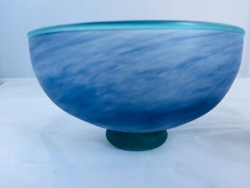 Stunning Vintage Art Glass Bowl for Penhaligons by Unknown Maker
