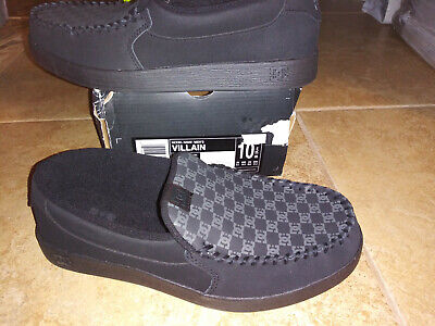 NEW $59 Mens DC Shoes Villain Shoes, size 10.5