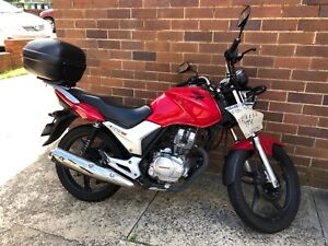 Year 2017 Honda GLH 125 CYC Rego 12 months Only 1 owner
