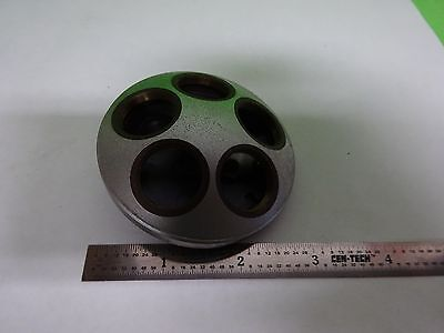Microscope Part Leitz Germany Nosepiece As Is Bin72-98