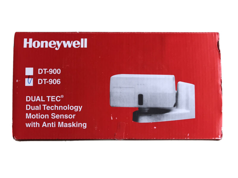 Honeywell DT-906 DUAL TEC Long Range With Anti-Mask Motion Sensor