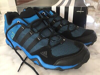 Adidas Mens Terrex AX2 Climaproof Hiking Walking Shoes Blue/Black AQ4042 UK 10
