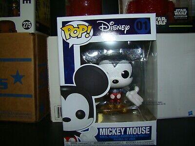 Diamond Mickey Mouse - FUNKO POP DISNEY MICKEY MOUSE DIAMOND EDITION HOT TOPIC EXCLUSIVE-VHTF