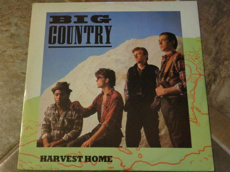 Collection of Big Country, Lot of 10 on Phonogram & Mercury