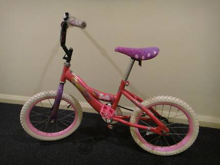 Girls 16 inch (40cm) Huffy Barbie Bike (great condition) NOW $20