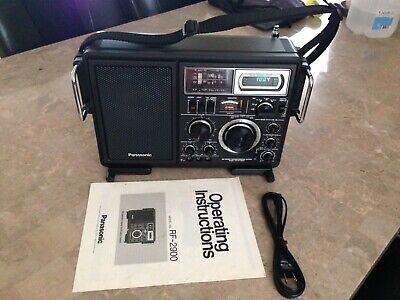 Panasonic  FM-MW-SW 5 Band Receiver Model #RF-2900 , Excellent.