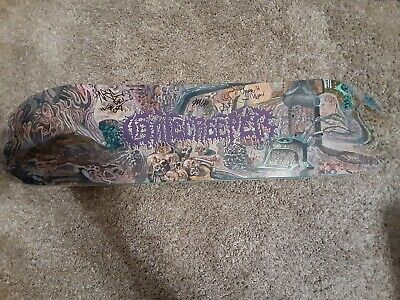 "8.25"" x 32"" Gatecreeper Signed / Autographed New Skateboard Deck Mint"