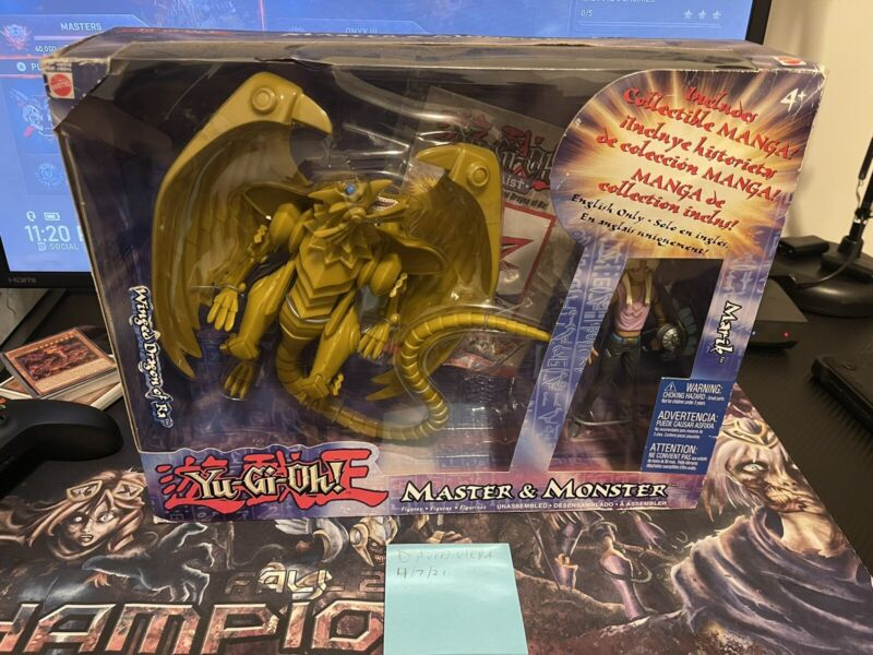 YuGiOh Master & Monster: Yu-Gi-Oh Marik & Winged Dragon of Ra