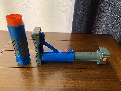 Nerf Star Wars Cassian Andor Blaster Blue Barrel + Extendable Stock Attachment!