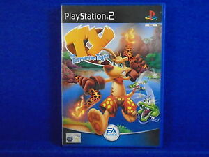 ps2 TY THE TASMANIAN TIGER Go Wild Down Under! MINT DISC Playstation PAL