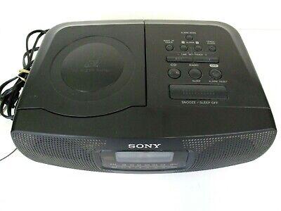 Sony CD Alarm Clock Radio ICF-CD820