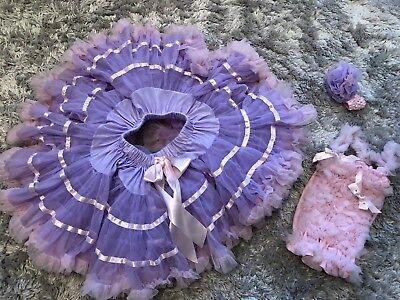 - Lila Party Rock Petticoat Kostüme