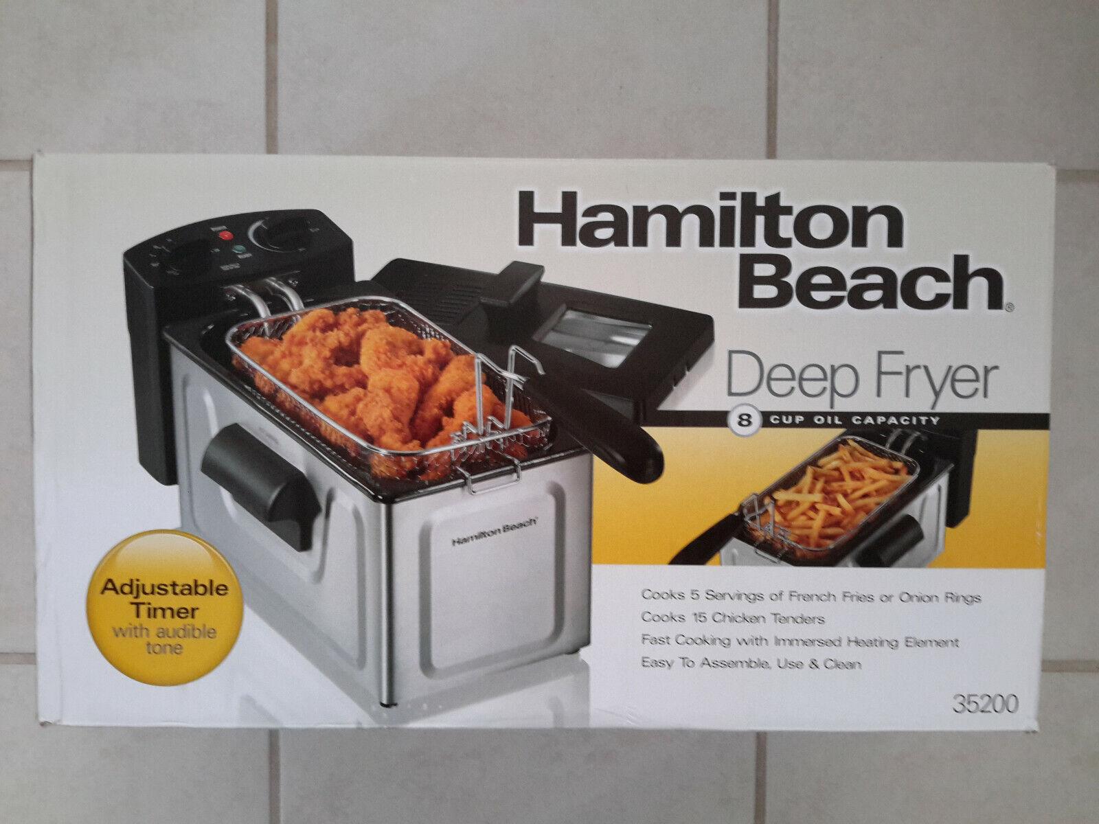 Hamilton Beach® 8-Cup Oil Capacity Deep Fryer