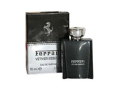 Miniature Mini Ferrari Vetiver Essence 10ml EDP Men Aftershave