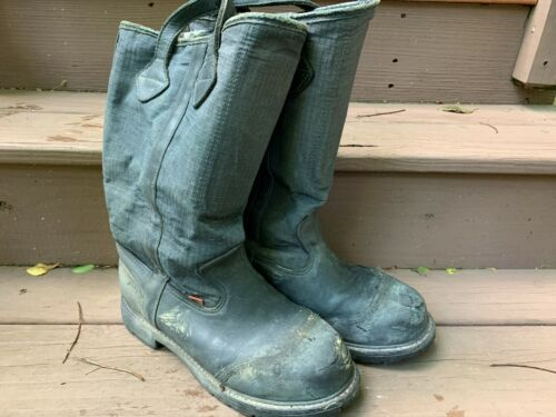 Sympatex Firefighter Boots - Size 9 W - Firefighter Turnout Gear - USED
