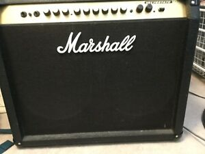 100w MARSHALL amp  with floor peddle