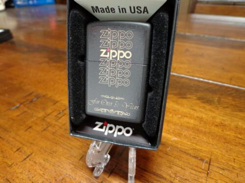 ZIPPO FOR OVER 50 YEARS CIRCA 1983 BOX DESIGN ZIPPO LIGHTER MINT IN BOX