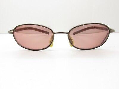 Nike Flexon Flash EYEGLASSES FRAMES 53-17-145 Brown Oval TV6 - Flashing Eyeglasses