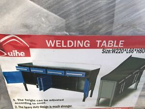 Welding Table, Tools table,