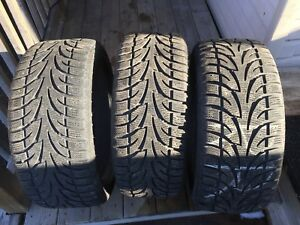225/45R/17 winter tires. (3) 125$ for all!