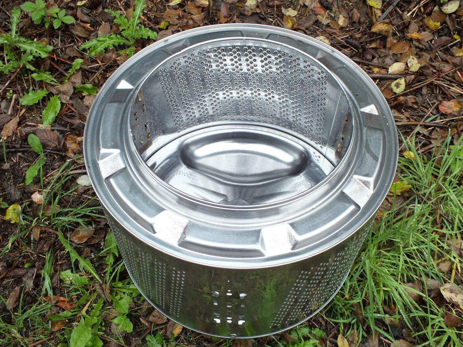Waschmaschinentrommel als Grill, Feuerstelle,Feuerkorb oder Outdoor-Heizung.....
