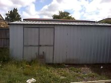 Galvinized garden shed good condition pickup Laverton North Wyndham Area Preview