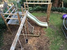 Cubby playground Fort Monkey bars swings Denistone East Ryde Area Preview