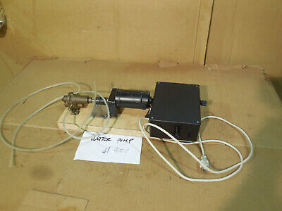 Water Pump With Variable Speed Control Box And Dayton Dc Gearmotor