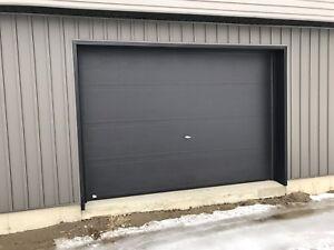 porte de garage 8x10