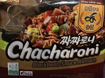 5 X Samyang BLACK BEAN SAUCE RAMEN - CHACHARONI - SAMYANG NOOLES 140G