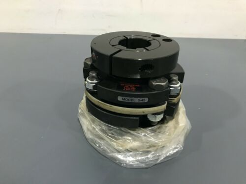 "New Zero Max Model 6-45 Flex Coupling 1-3/8"" Bore"