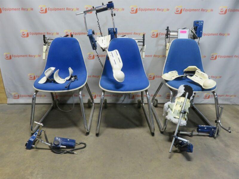 Jace CPM Systems S600 Shoulder Chair Continuous Passive Motion PT Therapy Lot 3
