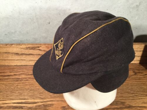 EARLY RARE CUB SCOUT HAT CAP 70% WOOL SCOUTS BSA BOYS EAR FLAPS