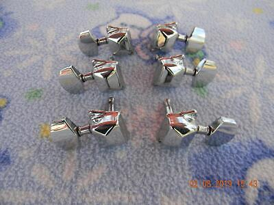 Set of Epiphone 3L/3R Closed Back Tuning Pegs , Bushings and Screws,Nice
