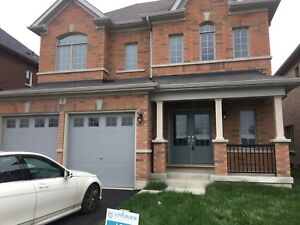 Brand new 4bdrms double garage detached house for lease