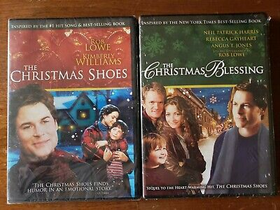 THE CHRISTMAS SHOES & BLESSING: Rob Lowe & Kimberly Williams -2 HALLMARK Movies ()