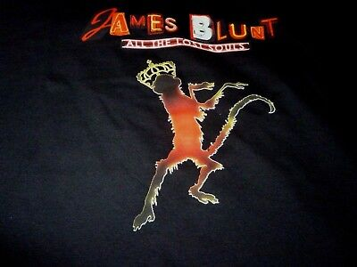 James Blunt Shirt ( Size XL ) NEW DEADSTOCK!!!