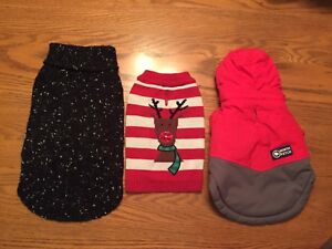 Dog Sweaters and Accessories - SMALL