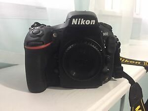 Practically New Nikon D810 body Warranty until April 2017