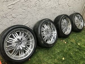 Dubs 24x10 Zane Edition Wheels w/ Tires