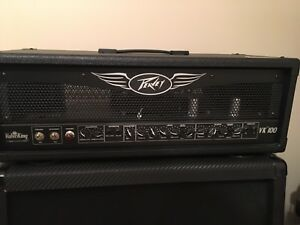 Peavy Valveking 100W Tube Head w/  4X12 Marshall Cab