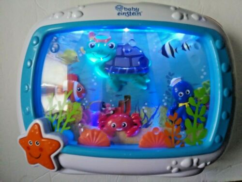 Baby Einstein Under the Sea Dream Soother Crib Nursery Night Light Sound Machine