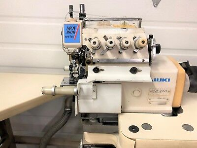 Juki Mof-3904 Front Top Feed Cylinder Serger 110vxtras Industrial Sewing Machine