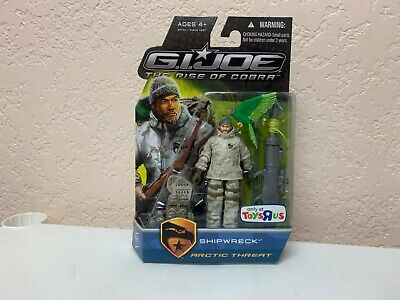 GI Joe The Rise Of COBRA SHIPWRECK ARCTIC THREAT Toys R Us Exclusive (Gi Joe The Rise Of Cobra Shipwreck)
